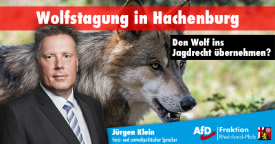 Wolfstagung in Hachenburg
