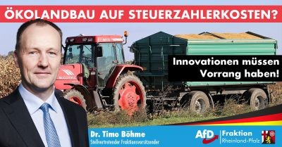 Dr. Timo Böhme zur Farm-to-Fork-Strategie