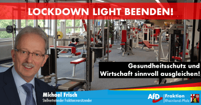 Michael Frisch zum Lockdown Light